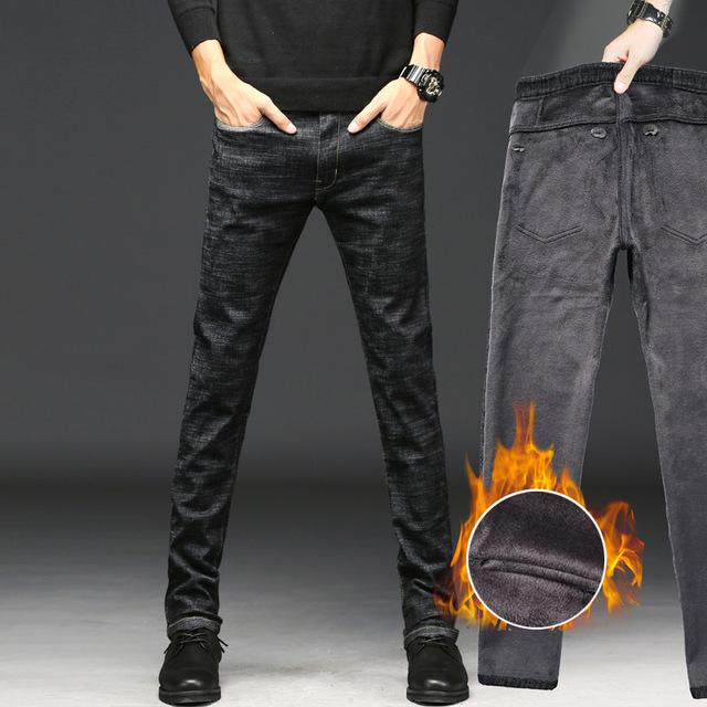 Брендовые зимние практичные джинсы
