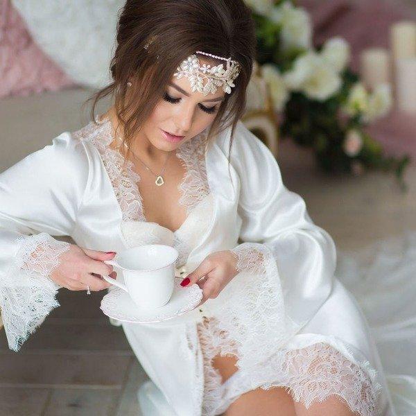 Будуарное платье для невесты
