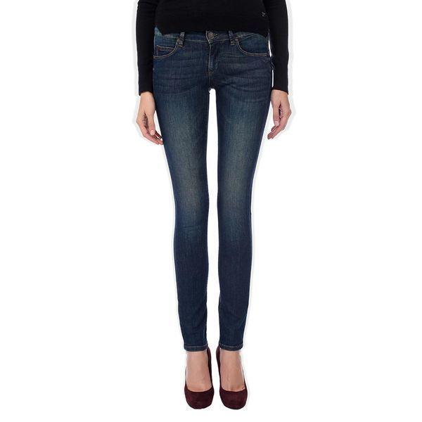 Чем популярны джинсы синего цвета Guess