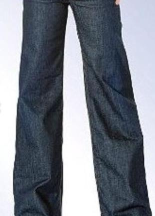 Черные ровные джинсы