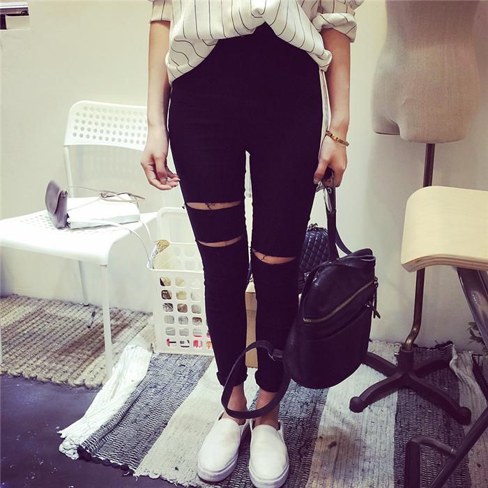 Черные штаны