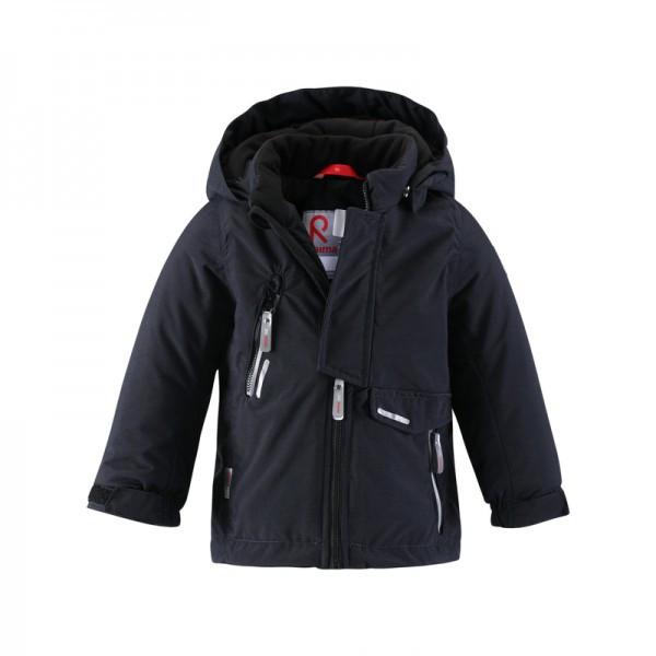 Черный цвет современной куртки