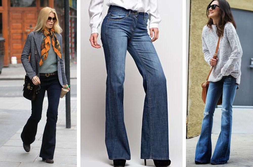 Что можно одеть с джинсами