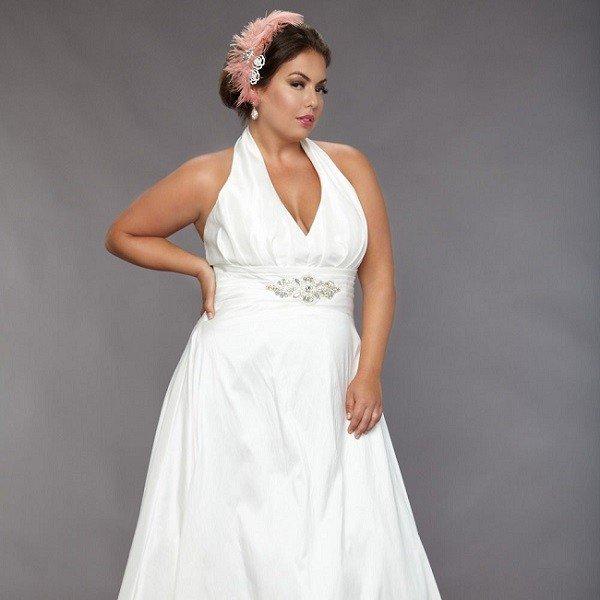 Что надеть полной невесте