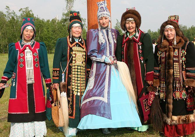 День национального костюма тувинцев