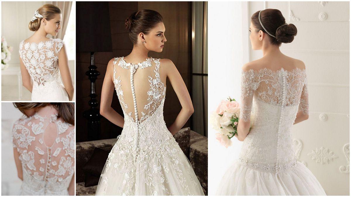 Длинные свадебные платья, какими они могут быть