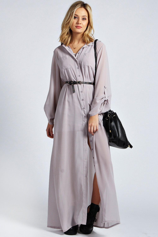 Длинный фасон платья