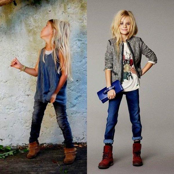 Джинсовая одежда для ребенка