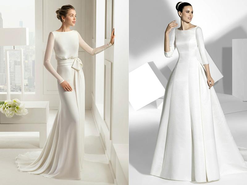 Эффектные наряды для невест