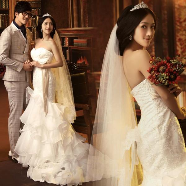 Эксклюзивный свадебный наряд