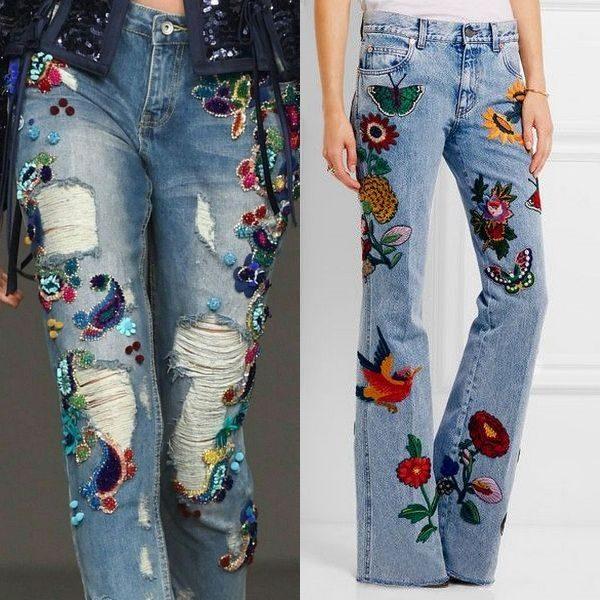 Эксперементы с джинсами