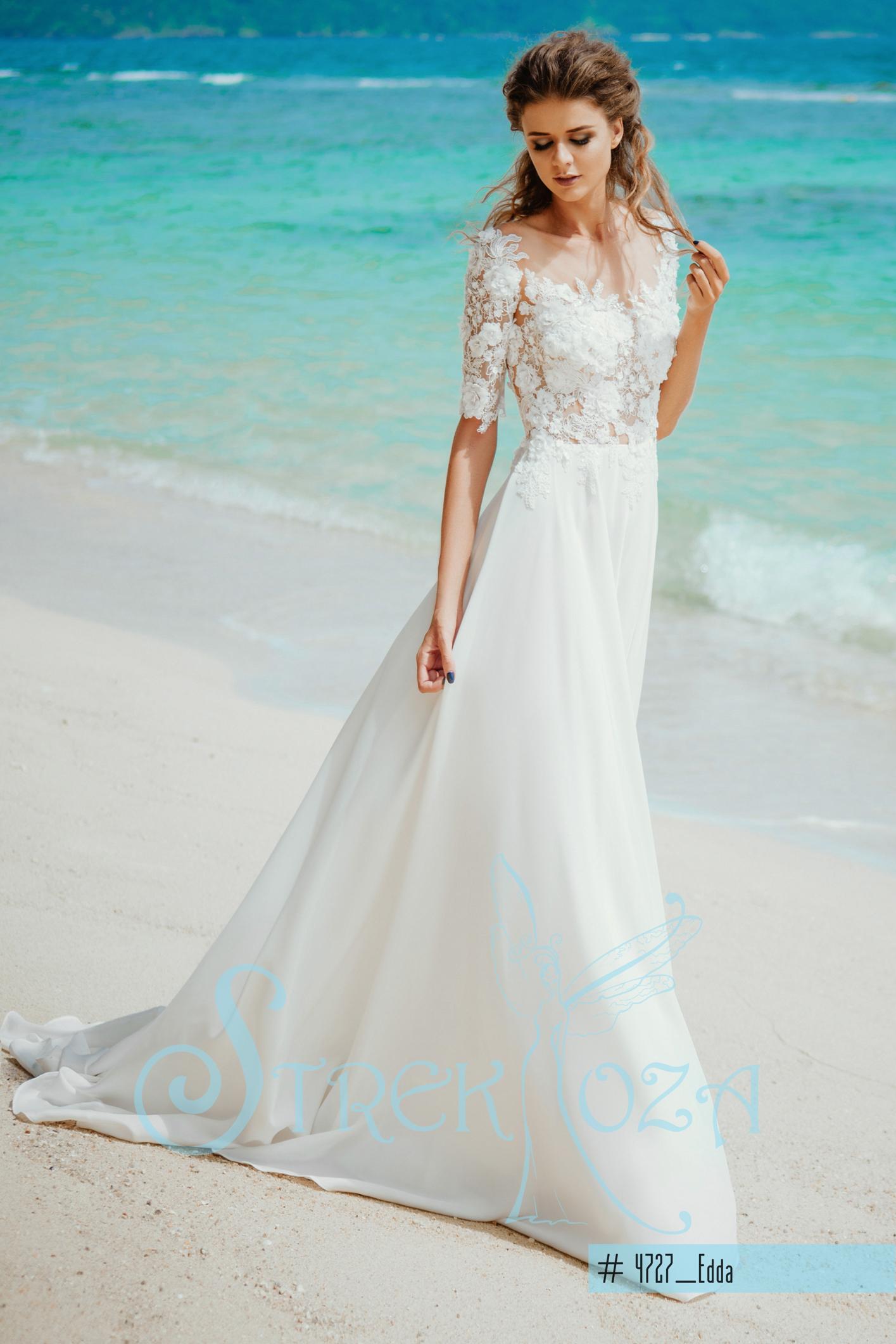 Элегантное и модное свадебное платье
