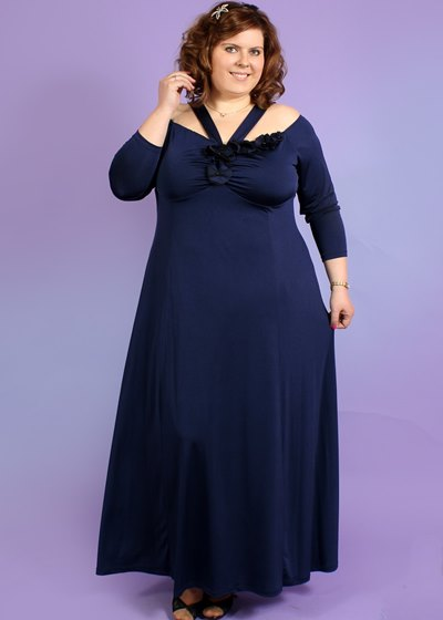 Фасон вечернего платья