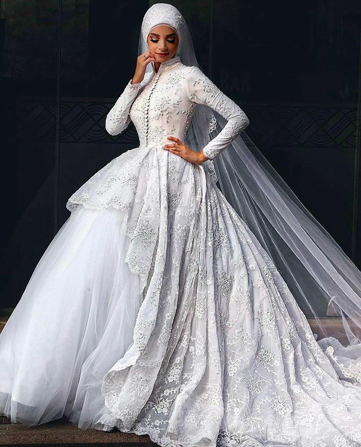 Хиджабы для невест