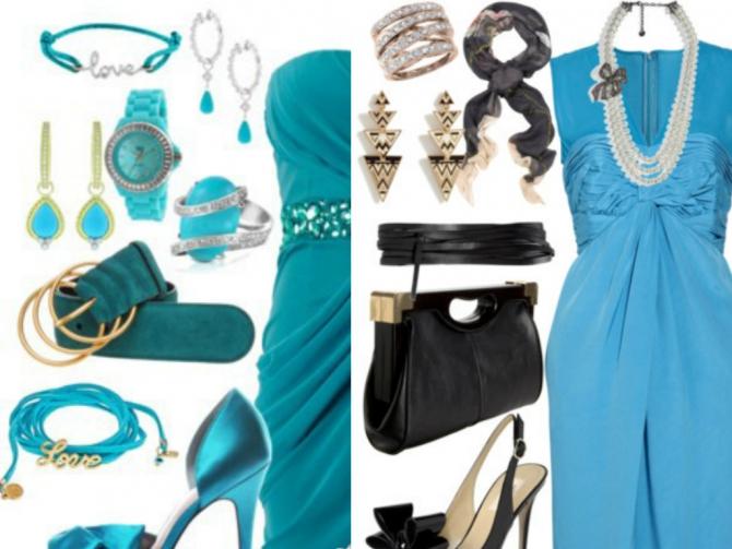 Хорошо сочетается с этим платьем бижутерия бронзового цвета