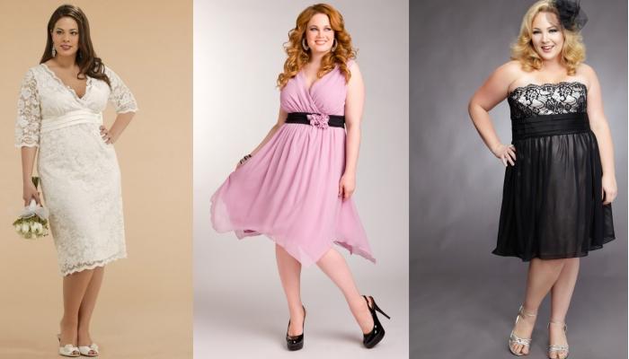 Интересные варианты стильных платьев для фигуры Яблоко