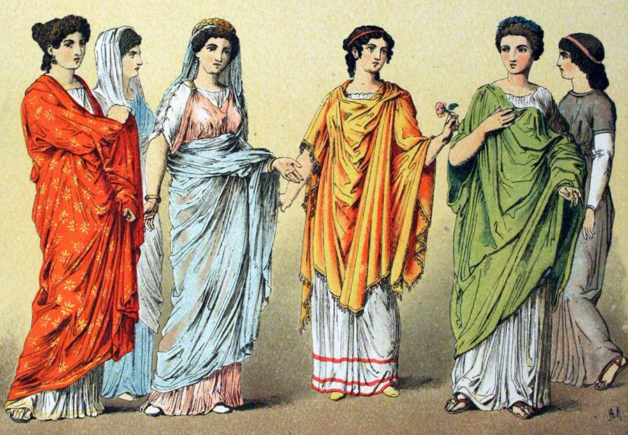 История костюма и мода в Древнем Риме