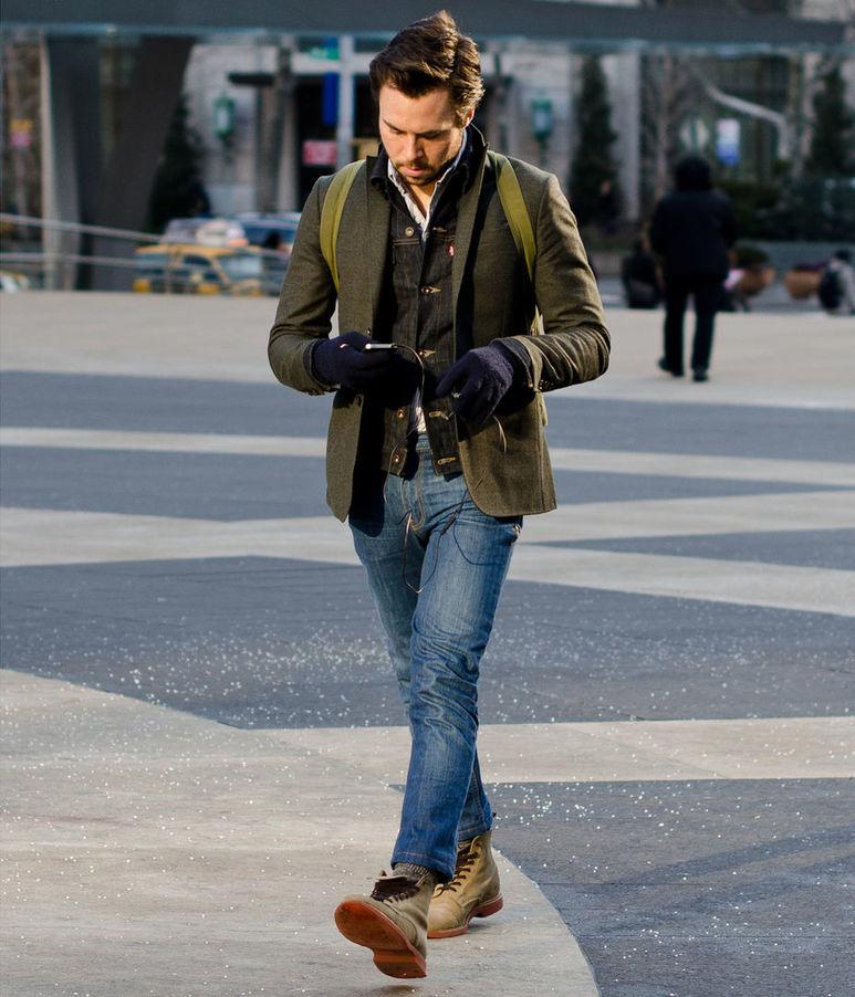 Как носить пиджак с джинсами, чтобы выглядеть стильно