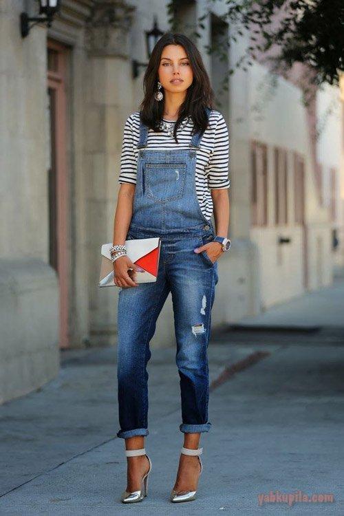 Как подобрать свою модель и кому подходят джинсовые комбинезоны
