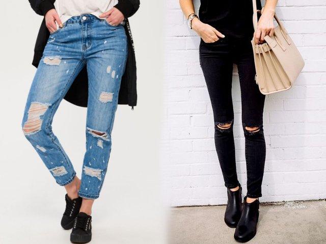Фотографии телок в джинсах дающих во все дыры — photo 1