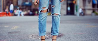 Как сделать дырки на джинсах своими руками