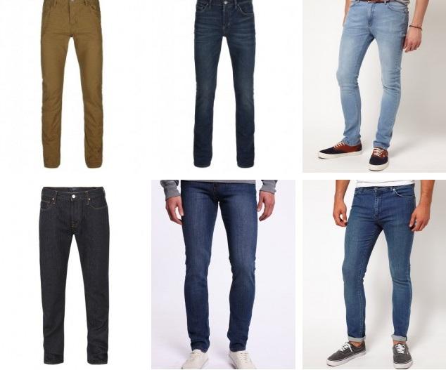 Какие есть узкие джинсы