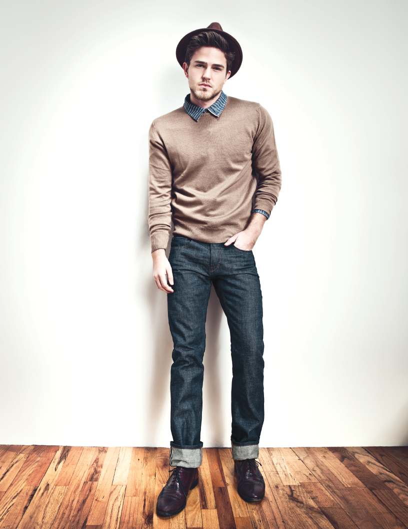Классическая модель джинсов