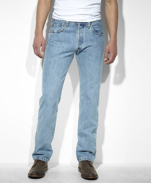 Классические голубые джинсы