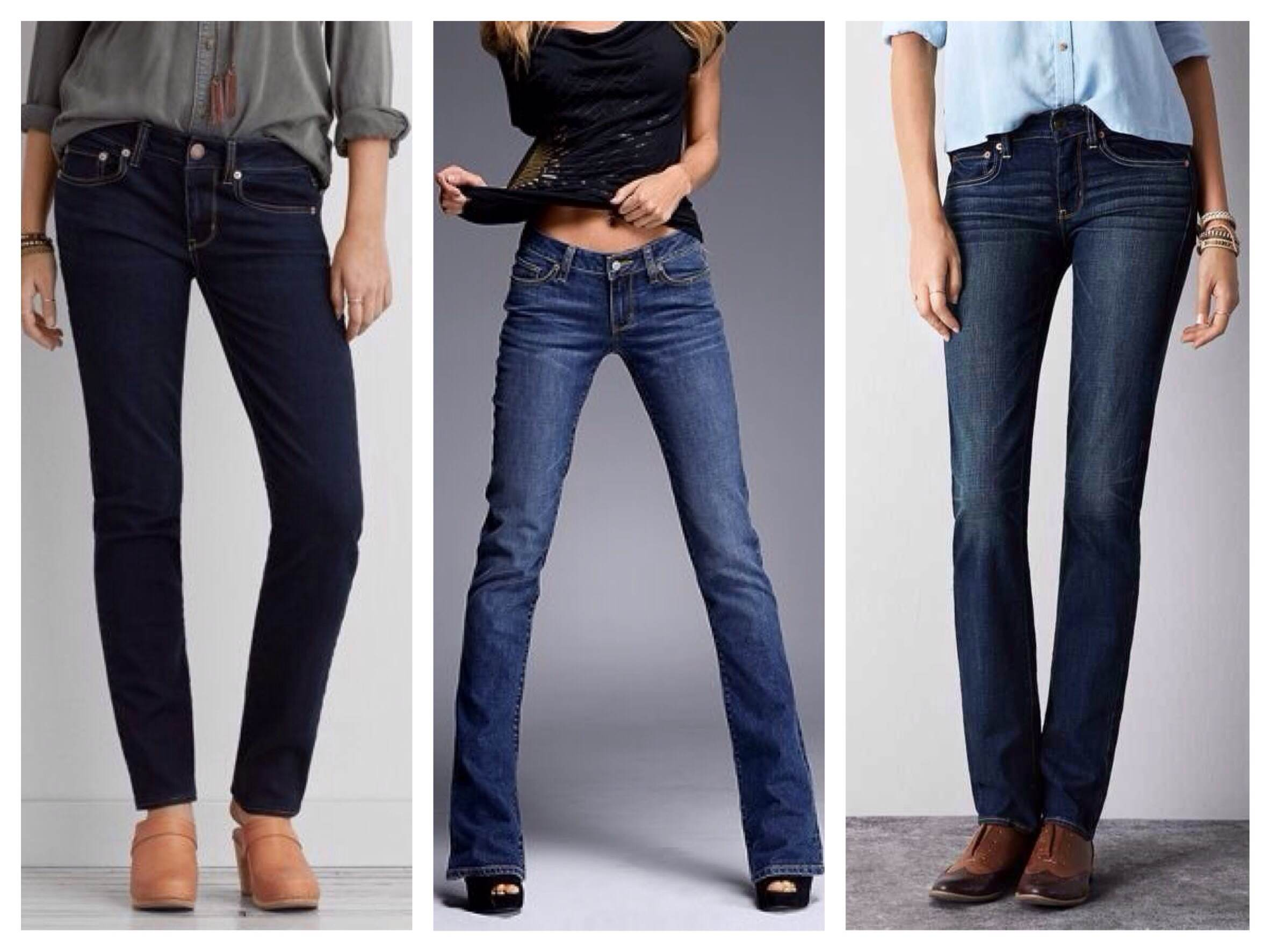 Классические прямые модели джинс