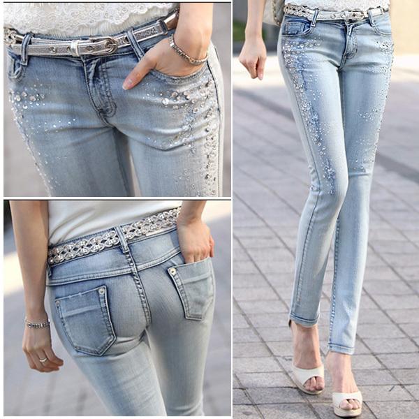 Классические удобные джинсы