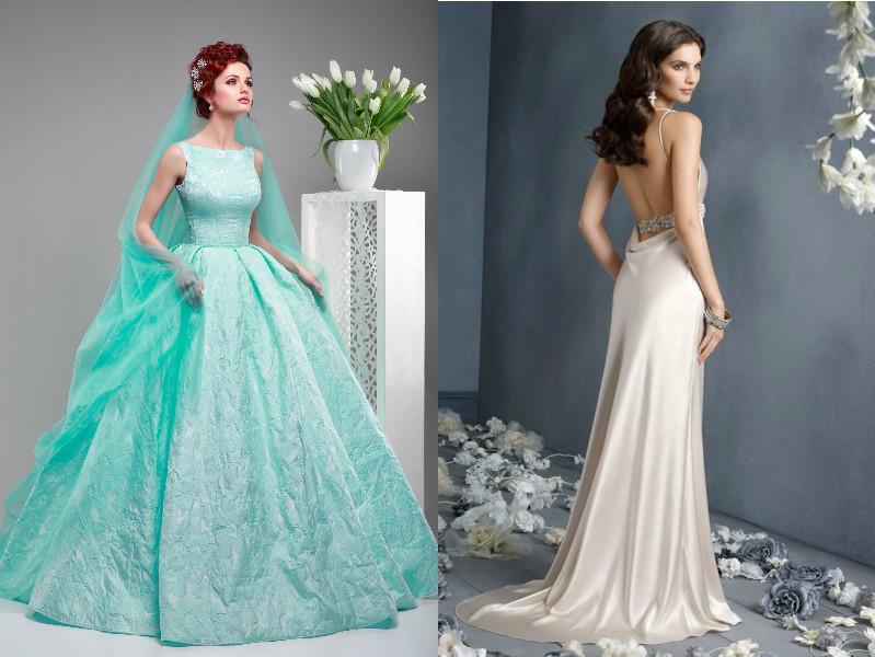 Когда уместно надеть цветное платье