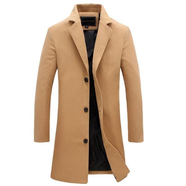 Комфортное пальто бежевого цвета