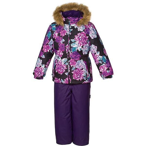 Комплект для девочки фиолетового цвета