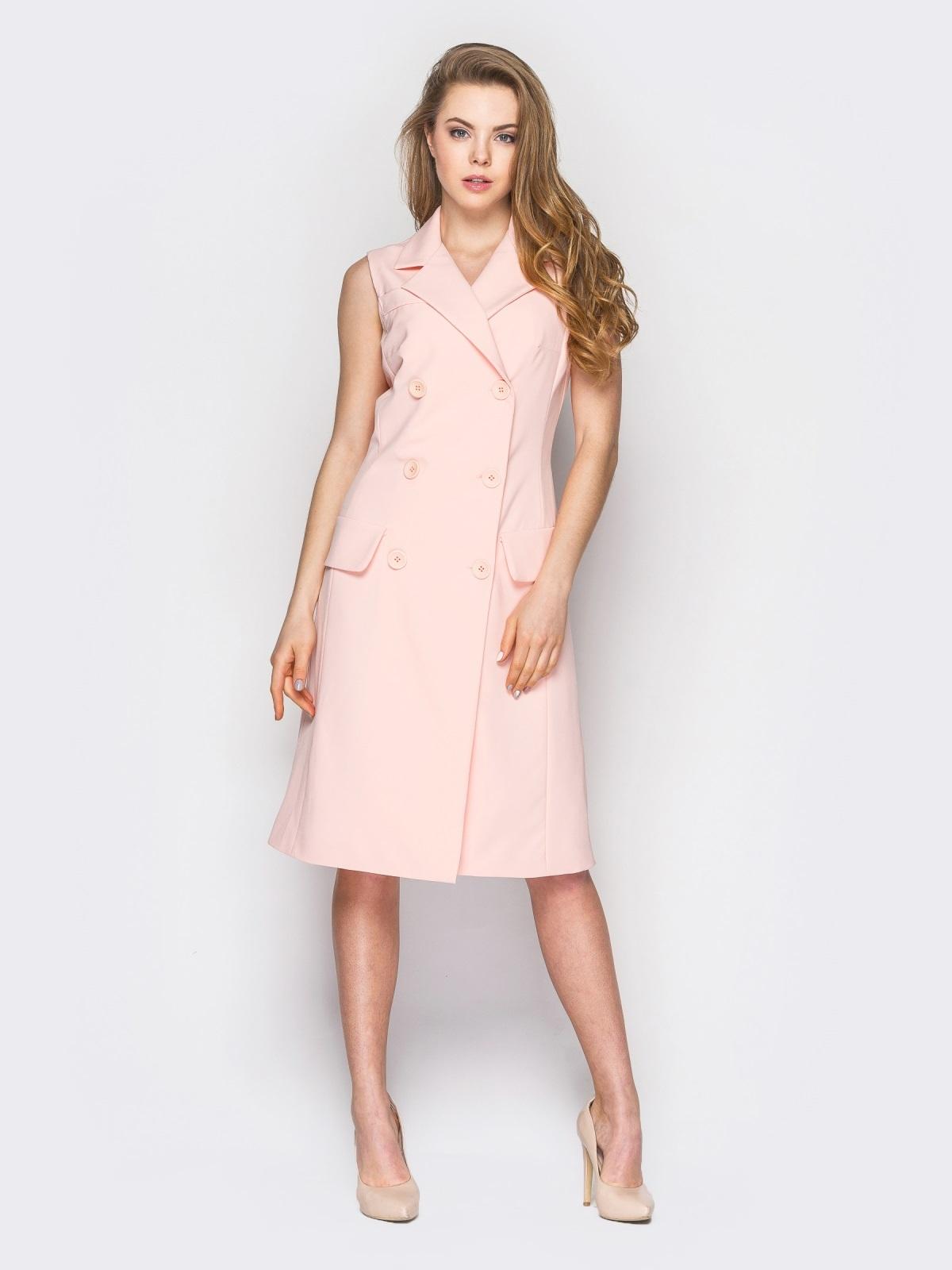Короткое платье-халат на запах