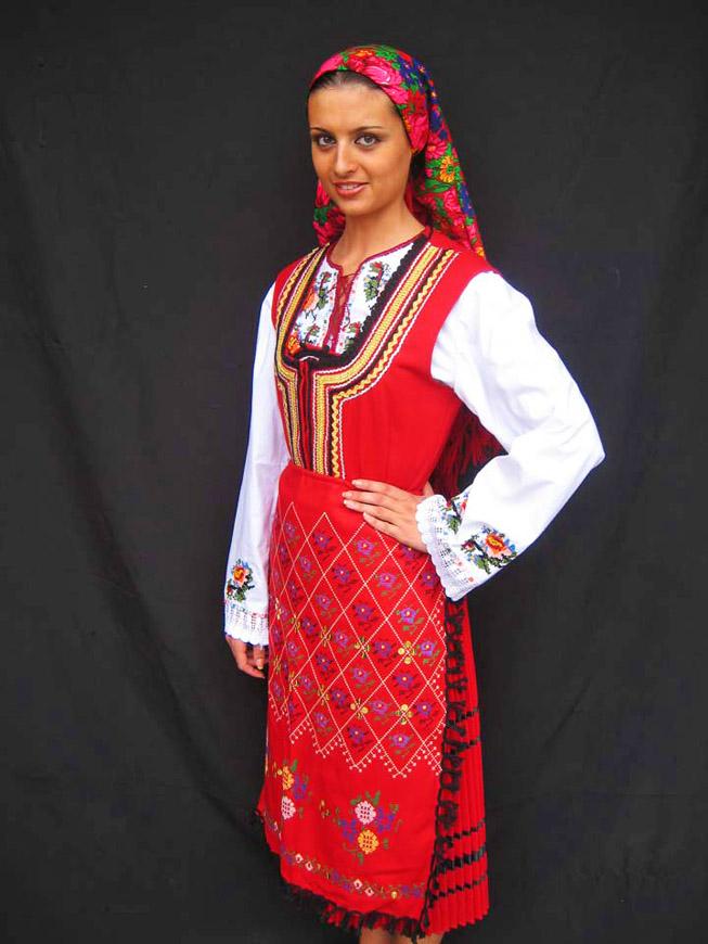 Красивая девушка Болгарии