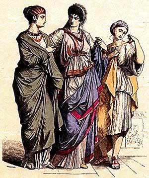 Красивая одежда Древнего Рима