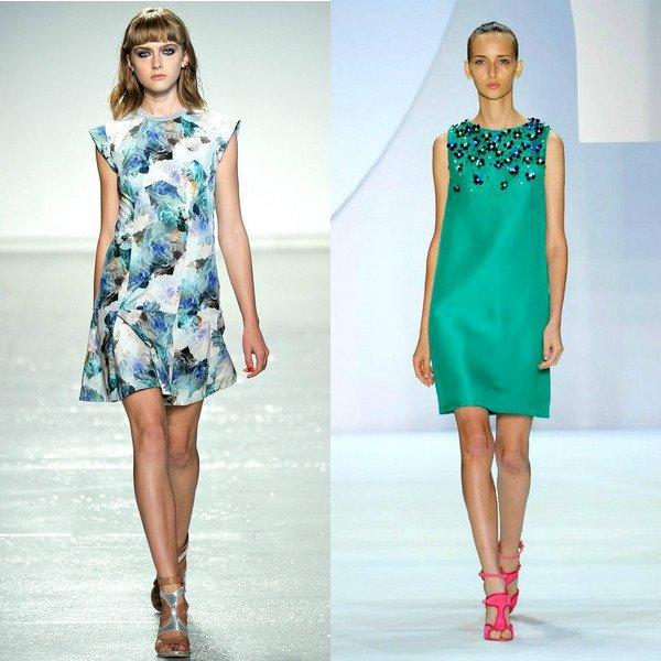Красивые модные летние платья женские