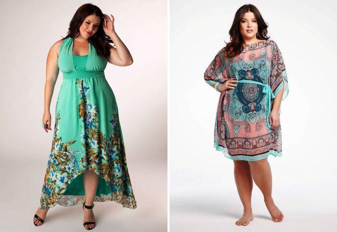 Красивые модные пляжные платья