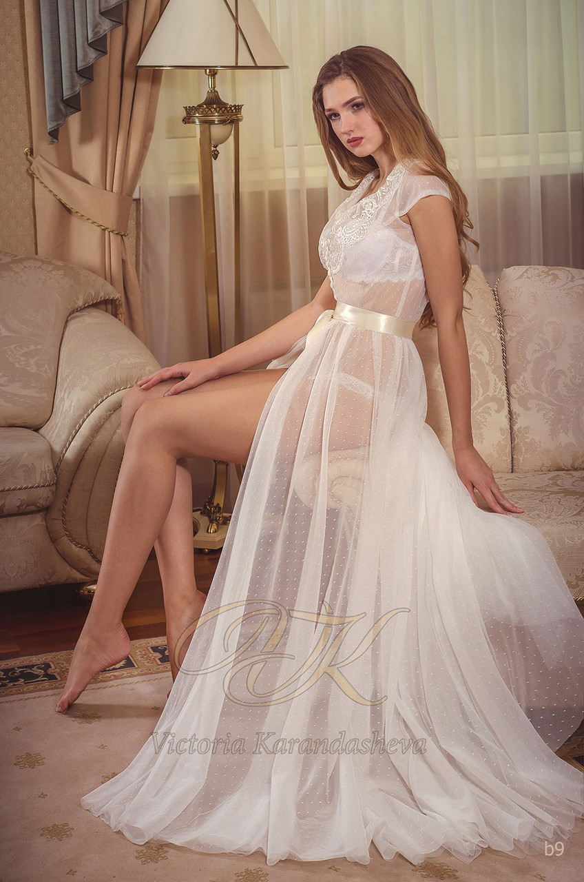 Красивый свадебный образ