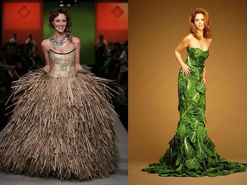 папоротника самые необычные платья в мире фото это были
