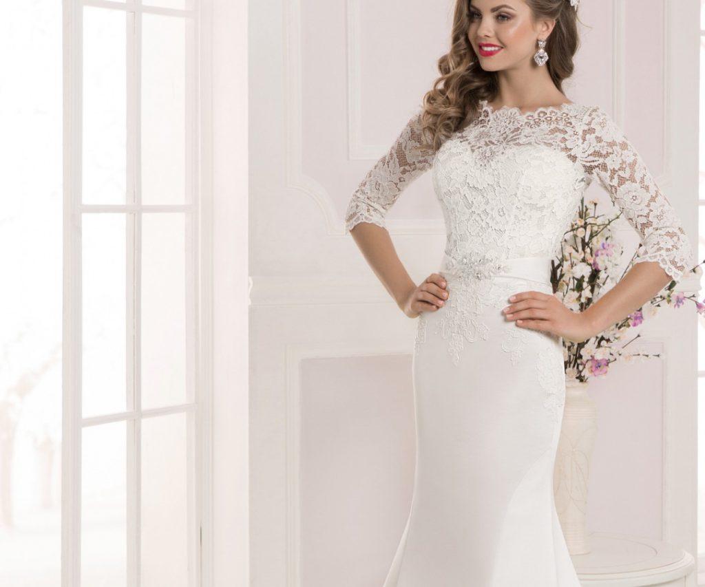 58087877ebbc516 Кружевные свадебные платья, плюсы и минусы, виды используемых материалов