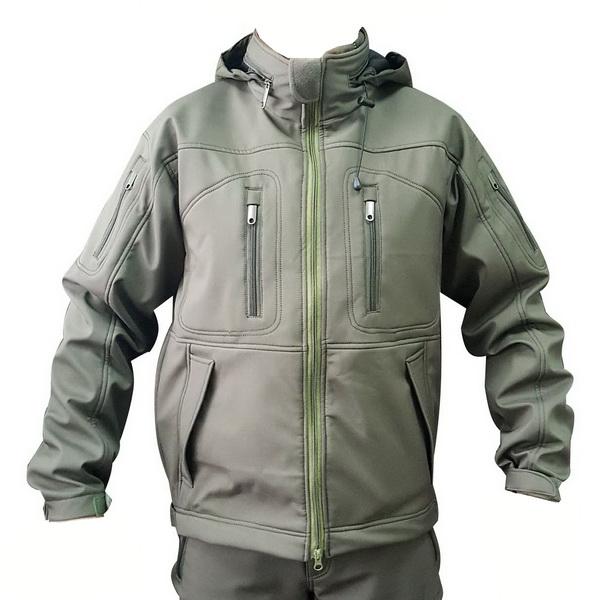 Куртка цвета олива