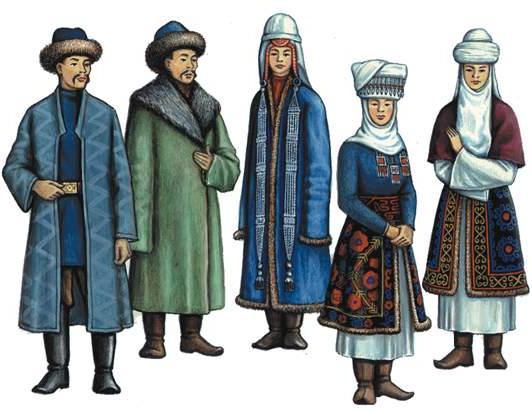 Кыргызская национальная одежда