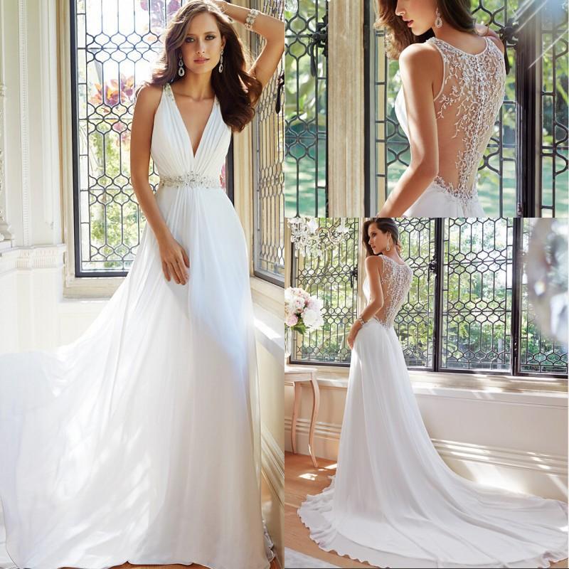 Легкая модель платья