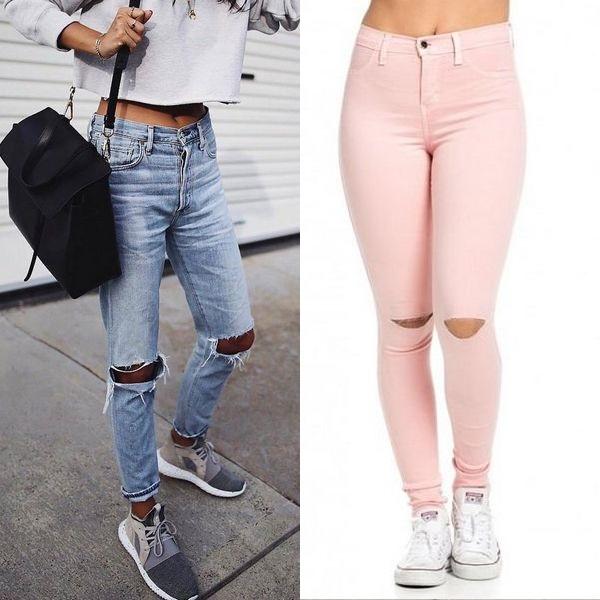 Летние джинсы от известных брендов