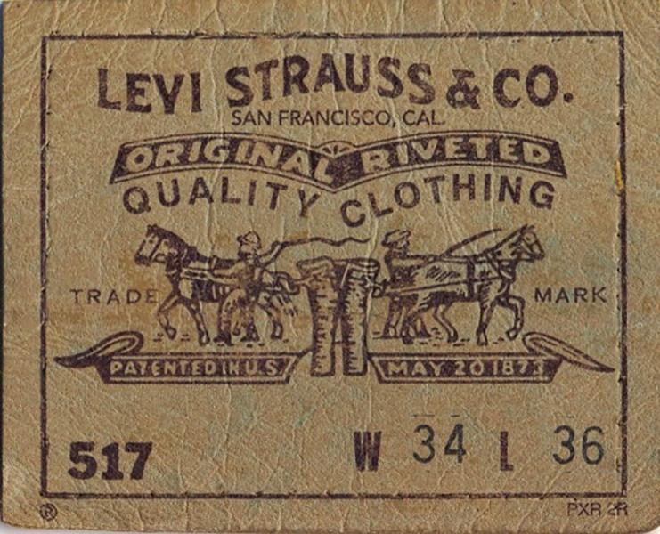 Леви Страусс сделал свои первые джинсы