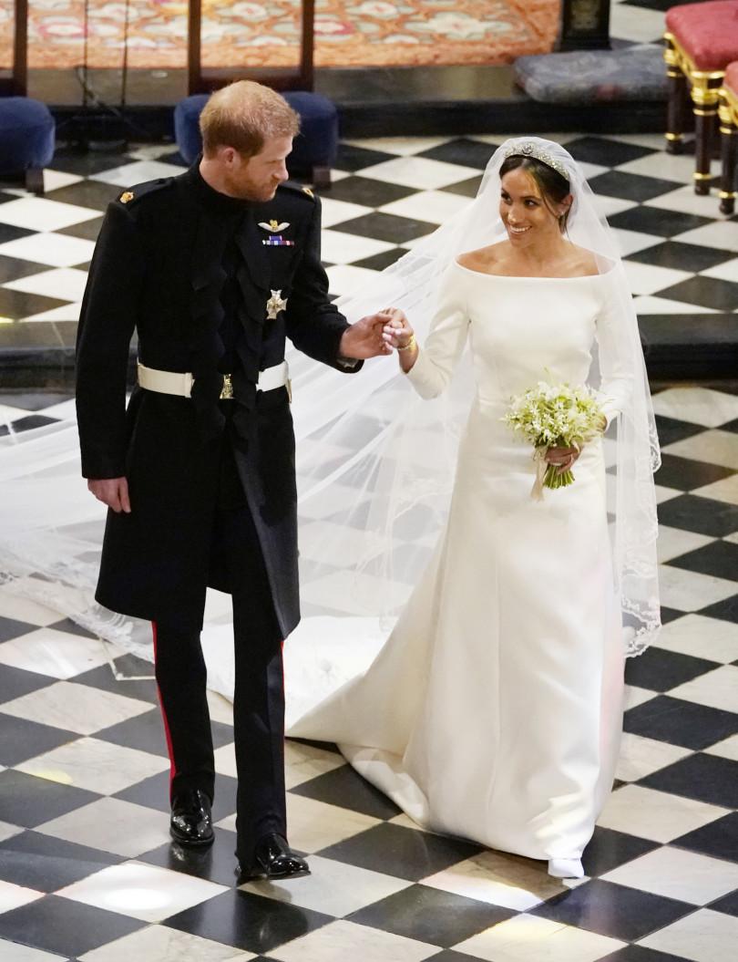 Меган Маркл свадебное платье