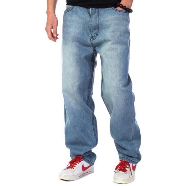 Мешковатые джинсы светлые
