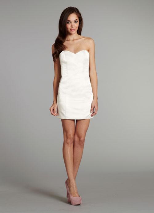 Мини свадебные платья для смелых невест