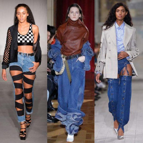 Мода на деним в 2018 году